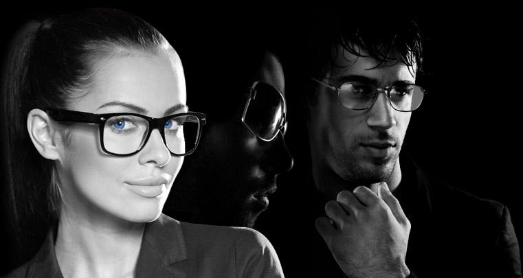 Damen-, Herren-, und Sonnenbrillen